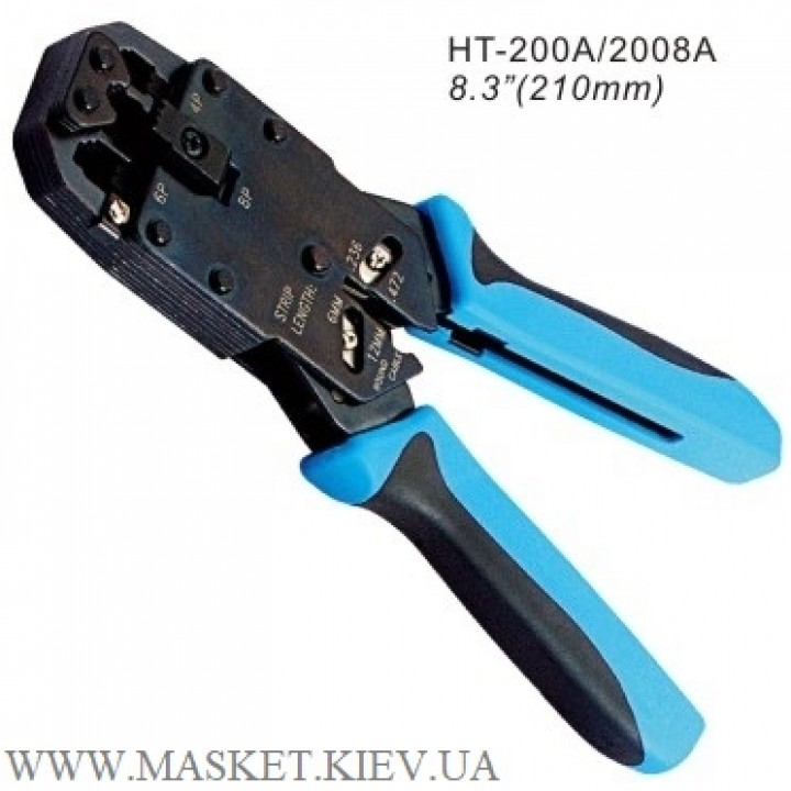 Инструмент для обжимания коннекторов Hanlong HT-2008A
