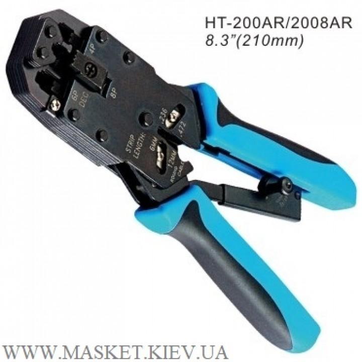 Инструмент для обжимания коннекторов Hanlong HT-2008AR