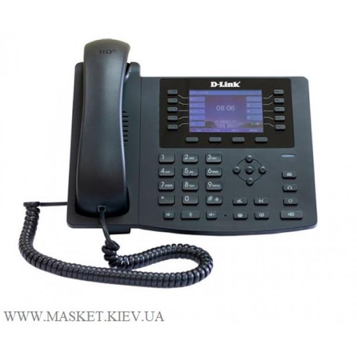 D-Link DPH-400GE/F2 - проводной SIP-телефон