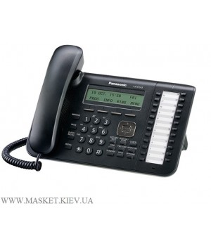 Panasonic KX-NT543RU-B - IP-телефон для АТС Panasonic KX-TDE/NCP/NS