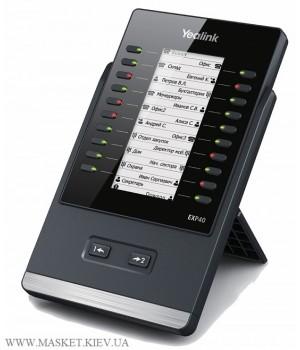 Yealink EXP40 - Модуль расширения c LCD-дисплеем
