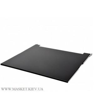 "Крышка для кронштейна настенного 19"" глубина 480 мм., чёрная"