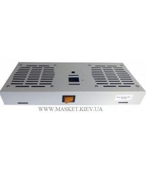 """Модуль 2 вентиляторов для настенных шкафов 19"""" без термостата"""