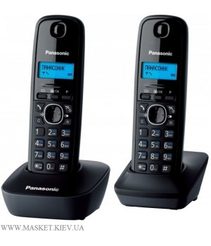 Panasonic KX-TG1612UAH - радиотелефон DECT