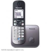Радиотелефон DECT Panasonic KX-TG6811UAM, Metallic