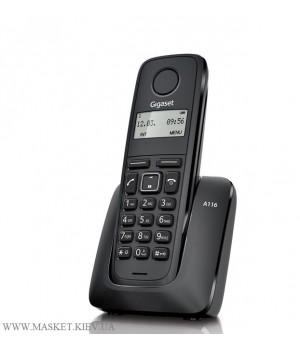 Gigaset A116 Black - радиотелефон DECT
