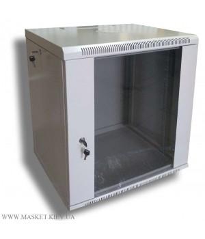 Шкаф настенный 12U 600x450 разборной, серый