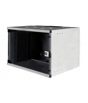 Шкаф настенный 7U 540x400 разборной, серый