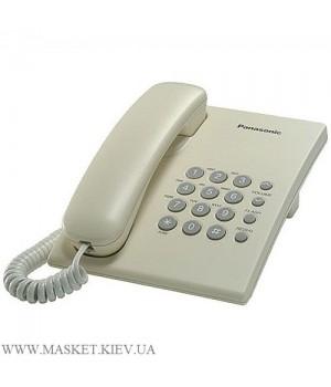 Panasonic KX-TS2350UAJ Beige – проводной телефон