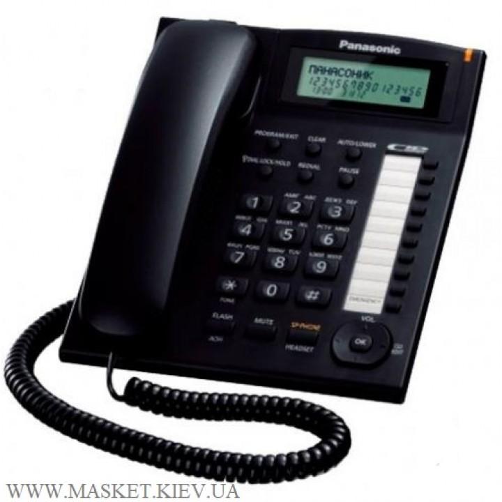 Проводной телефон Panasonic KX-TS2388UAB