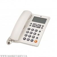 Проводной телефон 2E AP-410 Beige White