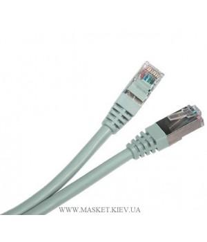 Патч-корд литой 0,25м. FTP RJ45 кат 5Е