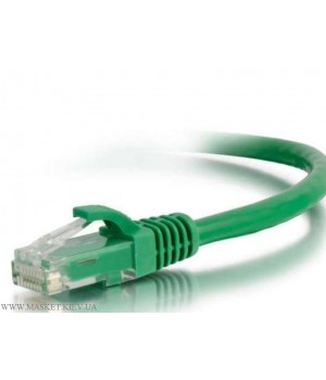 Патч-корд литой 1м UTP RJ45 кат 5Е, зелёный