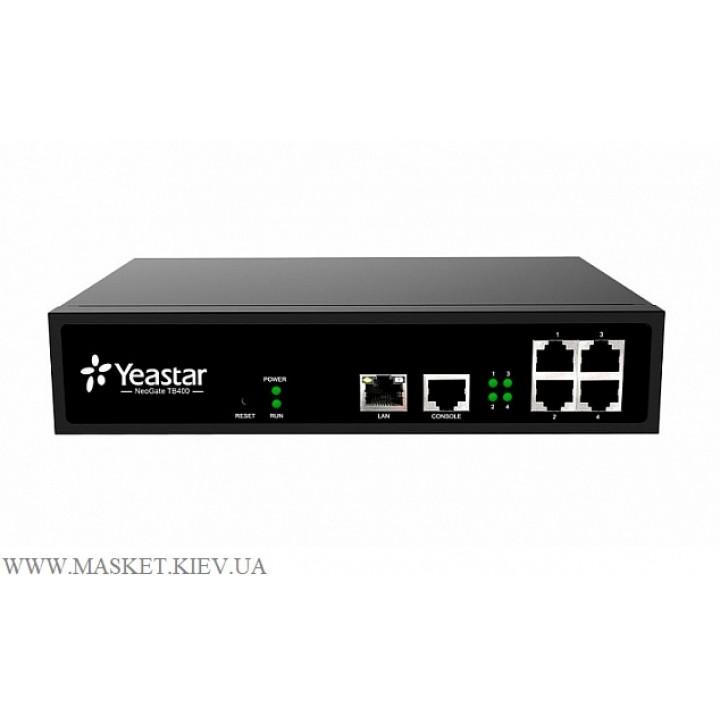 VoIP-BRI шлюз Yeastar TB400